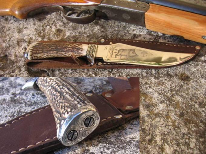 couteau de chasse sanglier